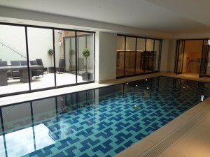 Tiled and Mosaic Swimming Pool