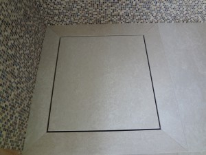 Mosaic and Wetroom Marble with Drainage